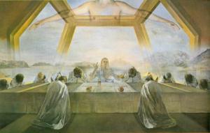 Última Cena, por Dalí (de www.catedu.es)