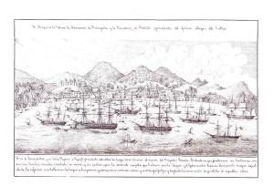 Javier de Santiago y Hoppe, Álbum de la guerra del pacífico (1863-1867), ed. de José Ramón García Martínez, Gijón, Museo Naval/Fundación Alvargonzález, 1997 (p. 123)